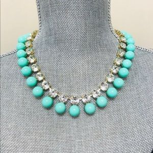 Jewelry - Turquoise Bubble Statement Necklace, NWT